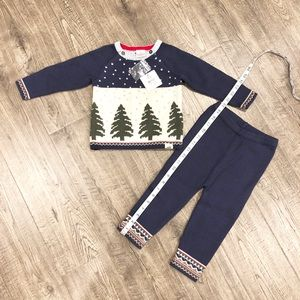 Hanna Andersson Christmas outfit size 80 18-24 mo